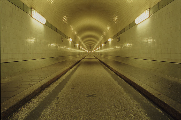 Hamburg, Alter Elbtunnel, Tunnelröhre, Hamburg